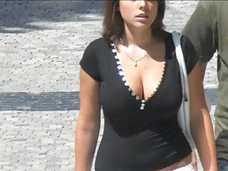 Massive melons on the street - 007