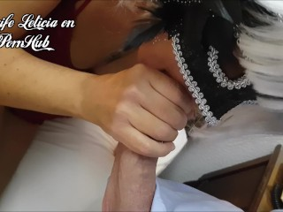 Cougar Portuguesa casada chupa caralho