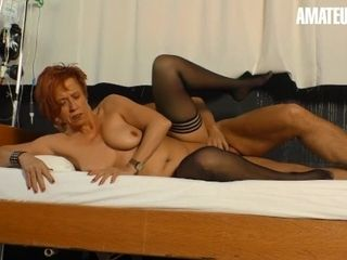 'XXXOmas - naughty German Mature lured And banged By Her naughty therapist - AMATEUREURO'