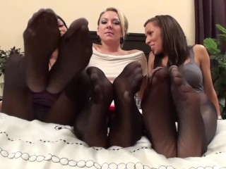 Triad milf stockings joi