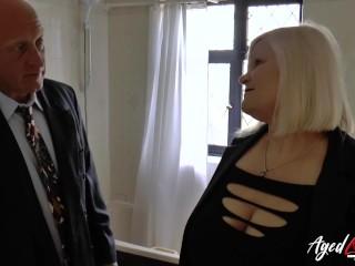 AgedLovE Mature girl Lacey Starr deep-throating firm manhood