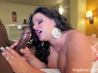 'Erotic taunt! Queen Angelina Castro Gets Her Pretty round fuckbox fucked!'