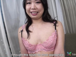 'Interview with chinese hotwife housewife Kaori that comes to our motel to fuck'