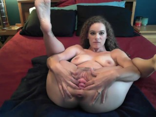 Uncrowded pussy coupled with cervix action!