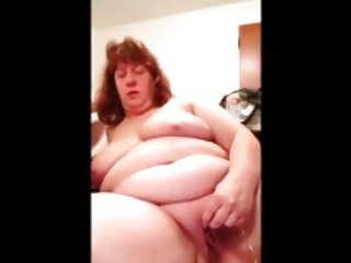 BBW full-grown chunky boob decanter cam represent!Pre