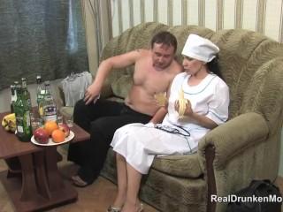 Drinking russian matured