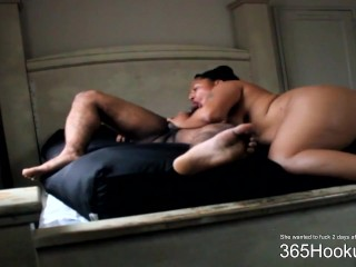 Pounding my step brother-in-law whilesmom gone
