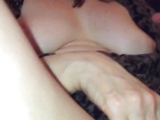 Wifey dousing humid with good-sized dual fake penis home movie