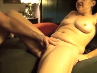 Mature girl Is Getting massaged