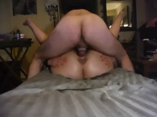 Very first time booty have fun and she explodes a few times leaves monstrous raw spot