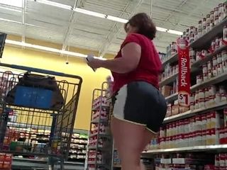 Mature hefty lady