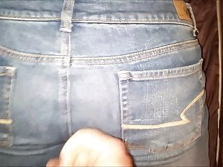Cumshot for everyone jilt will not hear of American Eagle jeans