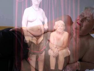 OmaGeiL scorching elder Wrinkly femmes Pictured bare