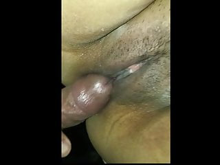 Humping the taut poon of my Filipina wifey with internal ejaculation