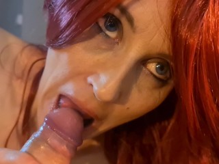 'POV - EYE CONTACT bj - BLUE EYES BY MISS19RED'